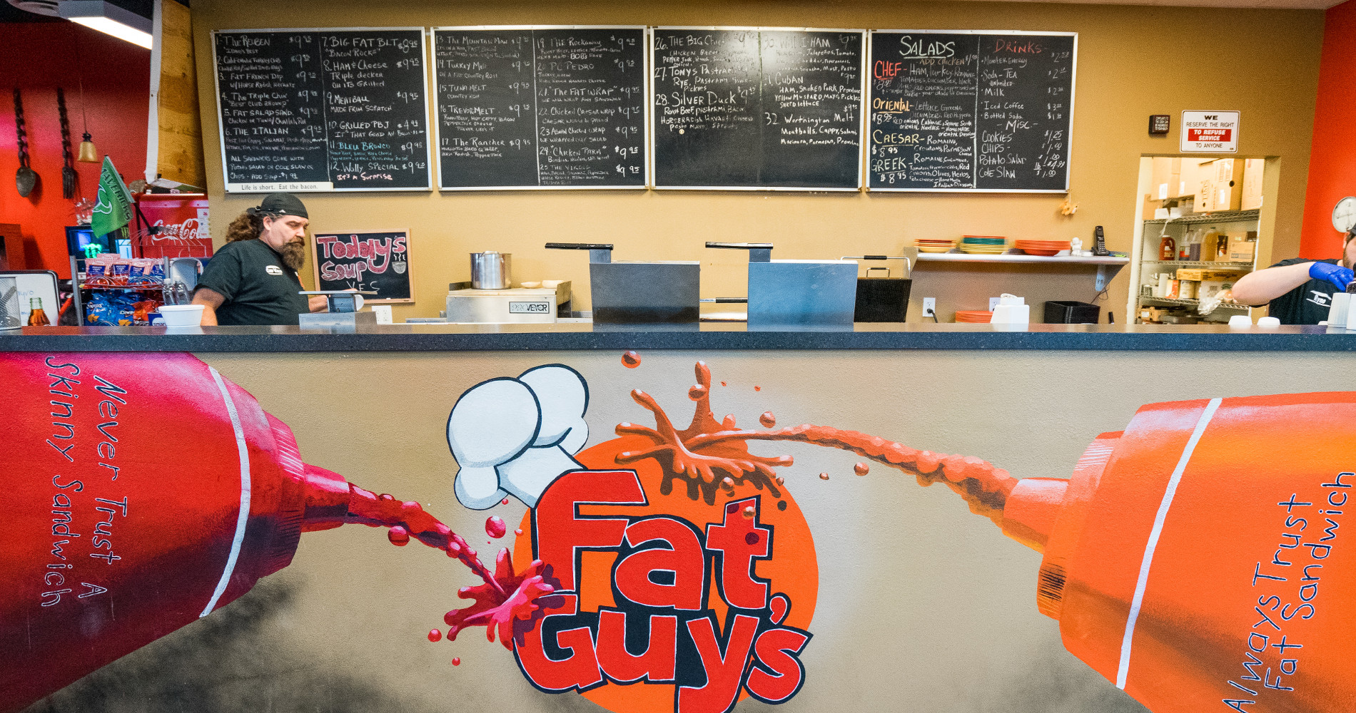 Welcome to Fat Guys Fresh Deli